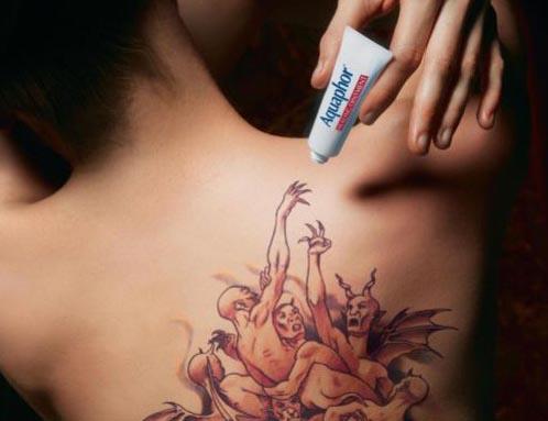 Что будет если не ухаживать за татуировкой