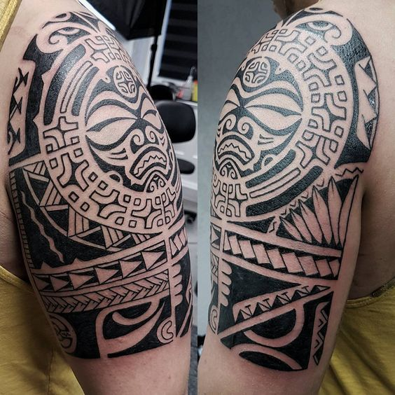 Прародительница тату стилей «Полинезия»