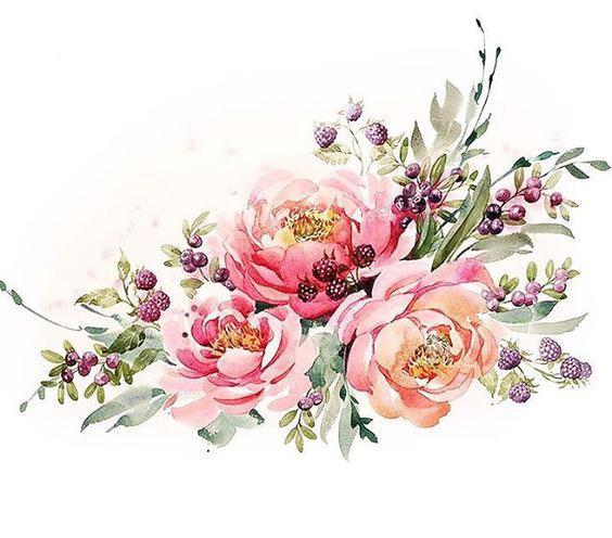 Букет цветы для фотошопа приглашения, открытка поздравляем