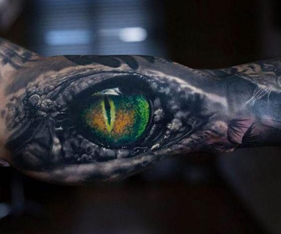 Взгляд сквозь кожу в стиле Биоорганика