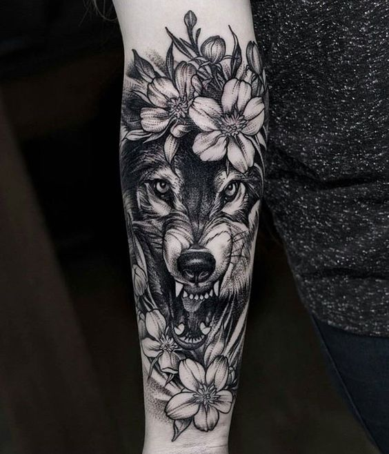 Волк. Предплечье