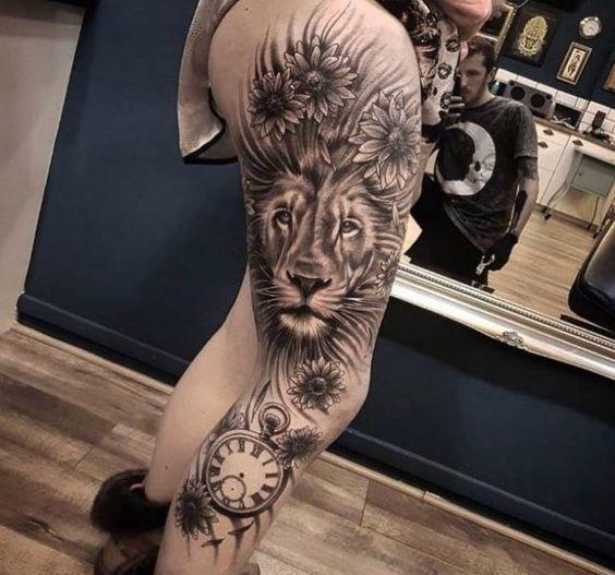Лев. Ноги